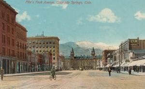 Pike's Peak Avenue, Colorado Springs, Colorado