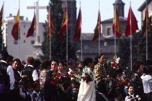 Pilar Celebration, Zaragoza, Aragon, Spain