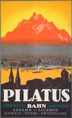 Pilatus Poster