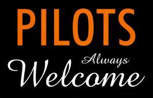 Pilots Always Welcome