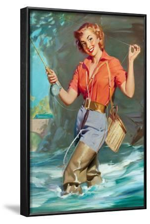 Pin-Up Fly Fishing Prints - William Medcalf | AllPosters.com