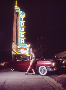 Pin-Up Girl: Tower Cinema Cadillac
