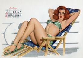 ca47bafb28e Affordable Pin-Up Girls (Vintage Art) Posters for sale at AllPosters.com