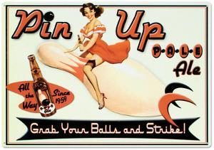 Pin Up Pale Ale Beer Bowling