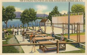 Ping Pong at Schroon Lake, New York State