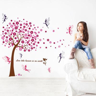 Pink Cherry Tree with Fairies Kids