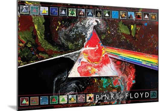 Pink Floyd - Dark Side of the Moon 40th Anniversary--Mounted Print