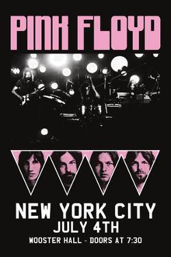Pink Floyd - NYC Billing
