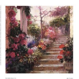 Rose Garden Steps by Pino Daeni