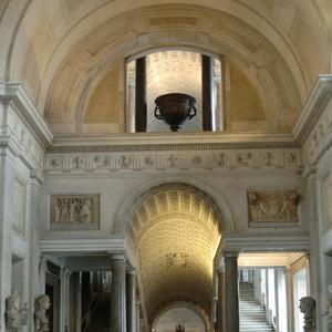 Pio-Clementino Museum, Inside View, Vatican Museums, Vatican City