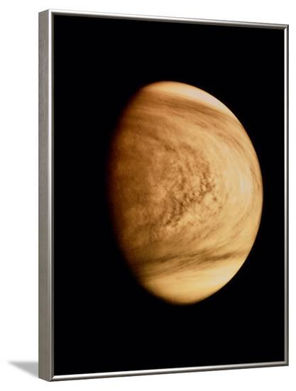 Pioneer Venus Image of Venusian Clouds--Framed Photographic Print