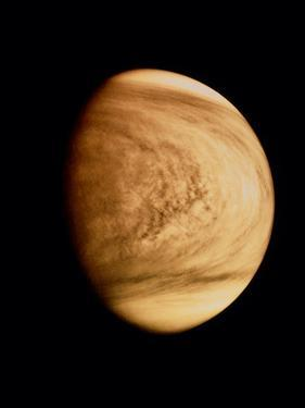 Pioneer Venus Image of Venusian Clouds