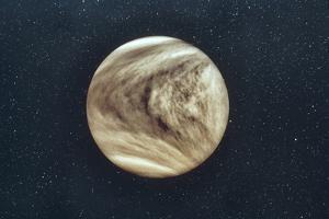 Pioneer-Venus Photo of Venus Showing Cloud Cover