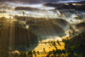 In the Morning Mists by Piotr Krol (Bax)