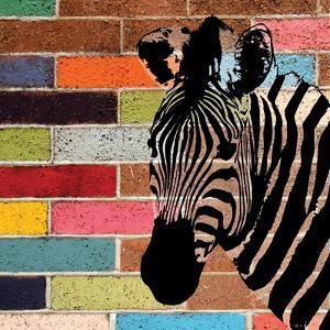 Brick Wall Zebra by Piper Ballantyne
