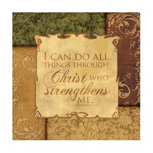 Christ Strengthens by Piper Ballantyne