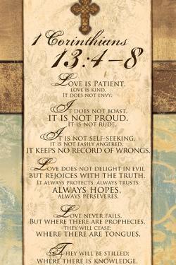 Corinthians 13:4-8 by Piper Ballantyne