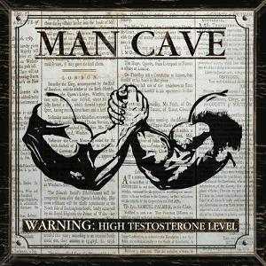 Man Cave (Black and White) by Piper Ballantyne