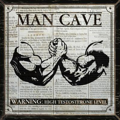 Man Cave (Black and White)