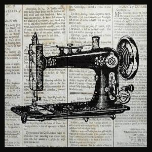 Vintage Sewing Machine by Piper Ballantyne