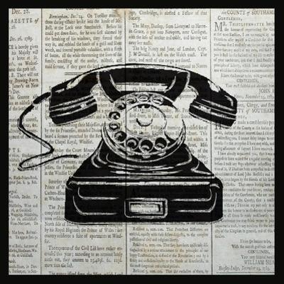 Vintage Telephone by Piper Ballantyne