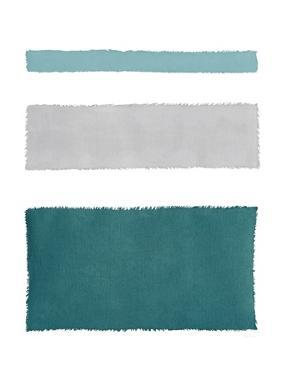 Painted Weaving IV Blue Green by Piper Rhue