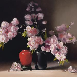 Japanese Blossom (detail) by Pippa Chapman