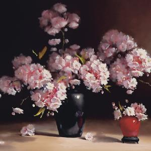Oriental Blossom (detail) by Pippa Chapman