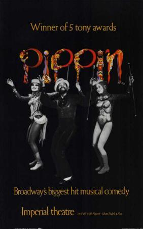Pippin - Broadway Poster , 1972