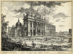 Veduta Basilica S. Giovanni Laterano by Piranesi