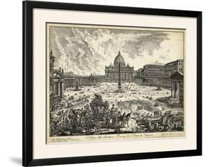 Veduta Della Basilica Di S. Pietro by Piranesi