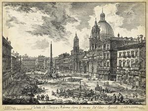 Veduta Di Piazza Navona by Piranesi