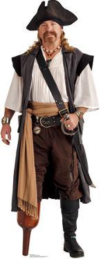 Pirate Peg Leg Lifesize Standup