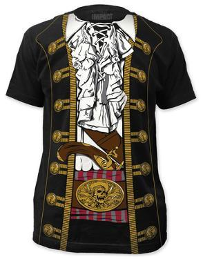Pirate Prince Costume Tee (slim fit)