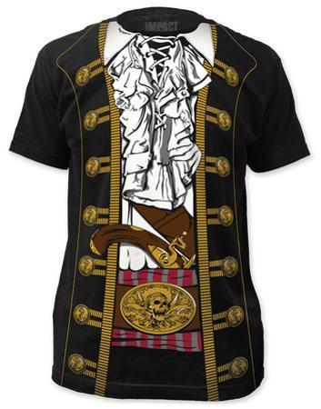 Pirate Prince Costume Tee (slim fit)