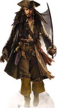 Pirates Of The Caribbean- Captain Jack Sparrow