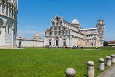 Pisa, Pisa Province, Tuscany, Italy. Campo dei Miracoli, or Field of Miracles. Also known as the...