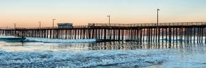 Pismo Beach pier at sunrise, San Luis Obispo County, California, USA