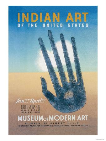 Indian Art of the United States at the Museum of Modern Art