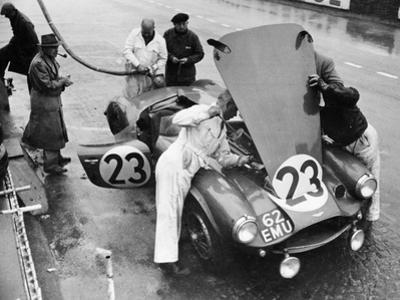 Pit Stop, Le Mans 24 Hours, France, 1955