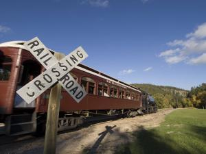 1880 Train, Hill City, Black Hills, South Dakota, United States of America, North America by Pitamitz Sergio
