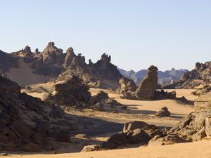 Akakus, Sahara Desert, Fezzan, Libya, North Africa, Africa by Pitamitz Sergio