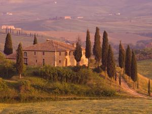 Country House, Il Belvedere, San Quirico D'Orcia, Val D'Orcia, Siena Province, Tuscany, Italy by Pitamitz Sergio