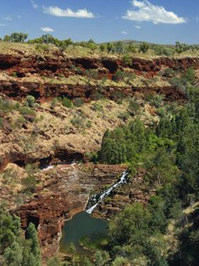 Fortescue Falls, Karijini National Park, Pilbara, Western Australia, Australia, Pacific by Pitamitz Sergio