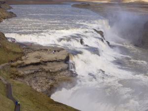 Gullfoss Waterfalls, Iceland, Polar Regions by Pitamitz Sergio