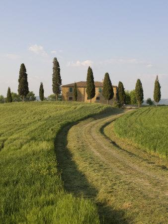 Pienza, Val D'Orcia, Siena Province, Tuscany, Italy, Europe
