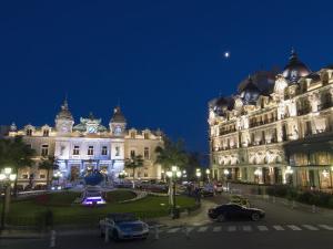Place Du Casino at Dusk, Monte Carlo, Monaco, Europe by Pitamitz Sergio