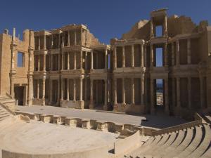 Roman Theatre, Sabratha Roman Site, UNESCO World Heritage Site, Tripolitania, Libya by Pitamitz Sergio
