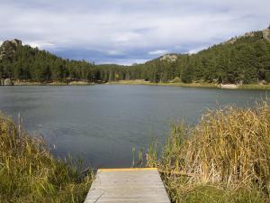 Sylvan Lake, Custer State Park, Black Hills, South Dakota, United States of America, North America by Pitamitz Sergio