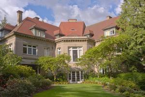 Pittock Mansion a historical landmark in Portland, Multnomah County, Oregon, USA